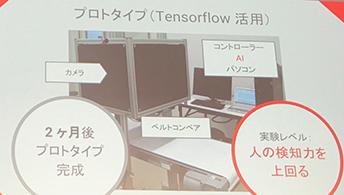 プロトタイプ(Tensorflow活用)