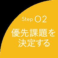 Step02 優先課題を決定する